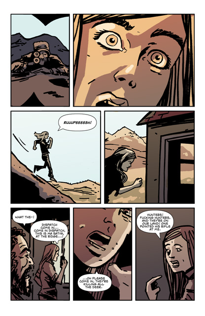 From 'Nirvana Road' - graphic novel version