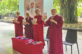 Osho Dham book launch of On the Edge