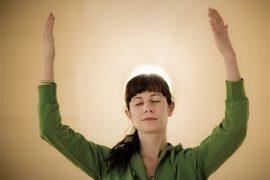 Dynamic Meditation: Stop! Foto: Mikael Sjöberg