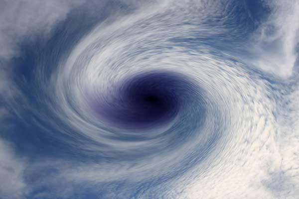 eye of a storm
