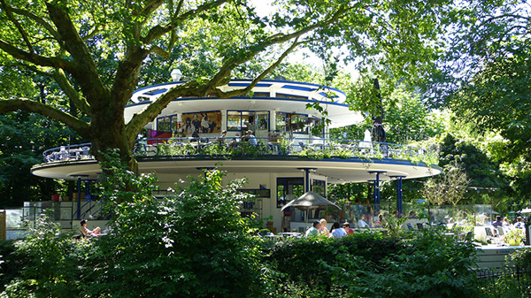 Blauwe Theehuis, Amsterdam | The Blue Tea House in Amsterdam