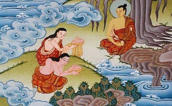 Gifts given to Buddha