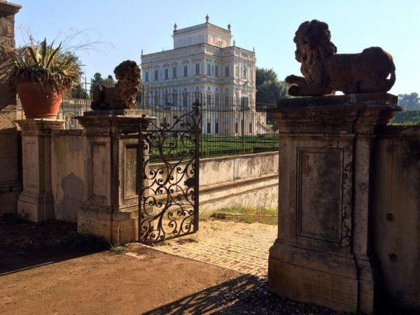 Villa Pamphili, the largest park in Rome