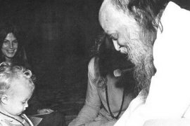 Osho and child Feat