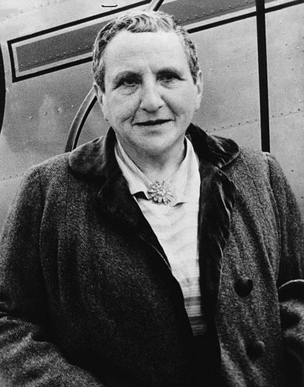 Stein in USA 1945