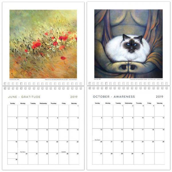 060 Padma Calendar inside a