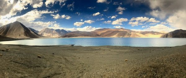 North end of Pangong Lake