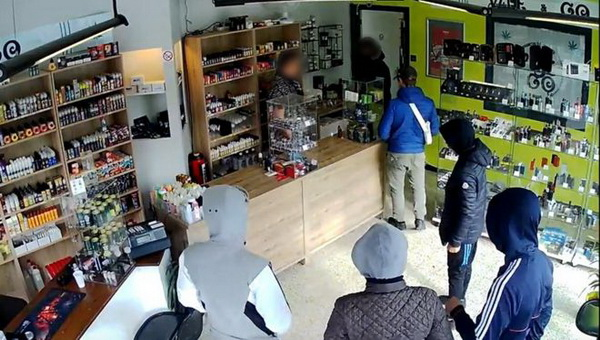 Six robbers