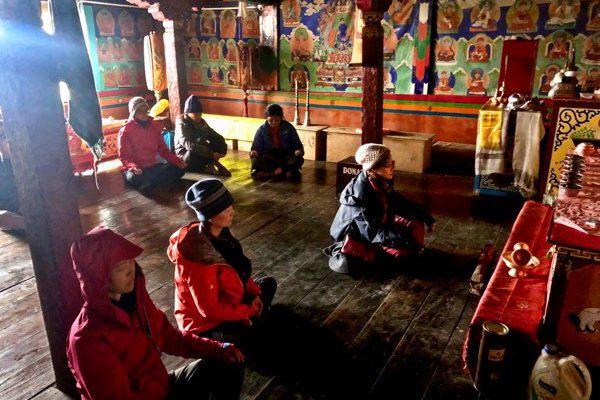 Temple meditation