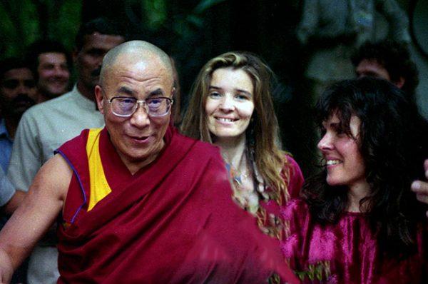 With the Dalai Lama