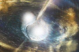 Gamma Ray burst illustration