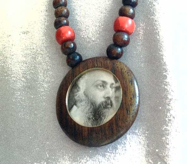 Mala with Osho locket