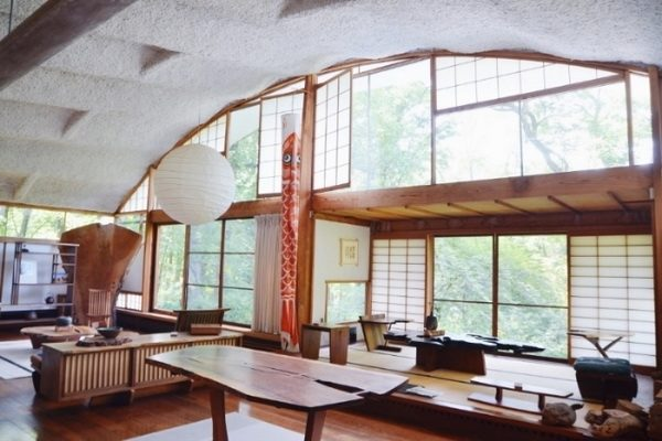 Nakashima house in Hope