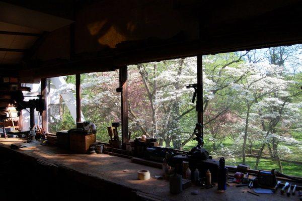 Nakashima's garden view