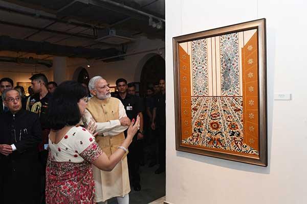 with PM Narendra Modi
