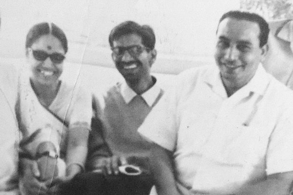 Ageh Bharti at the time of inquiry (middle) ¹