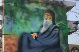 Osho Mural Feat