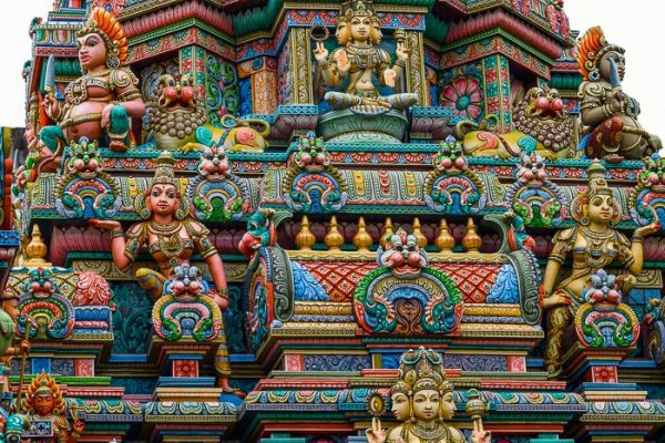 Wat Maha Uma Devi, detail