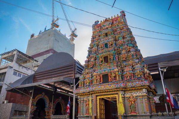 Wat Maha Uma Devi, main entrance