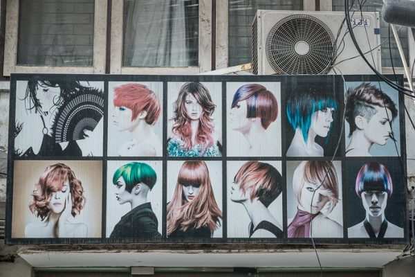 Faded hairstyles