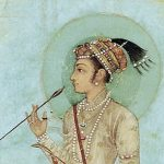 Indian noble with bow and arrow Feat