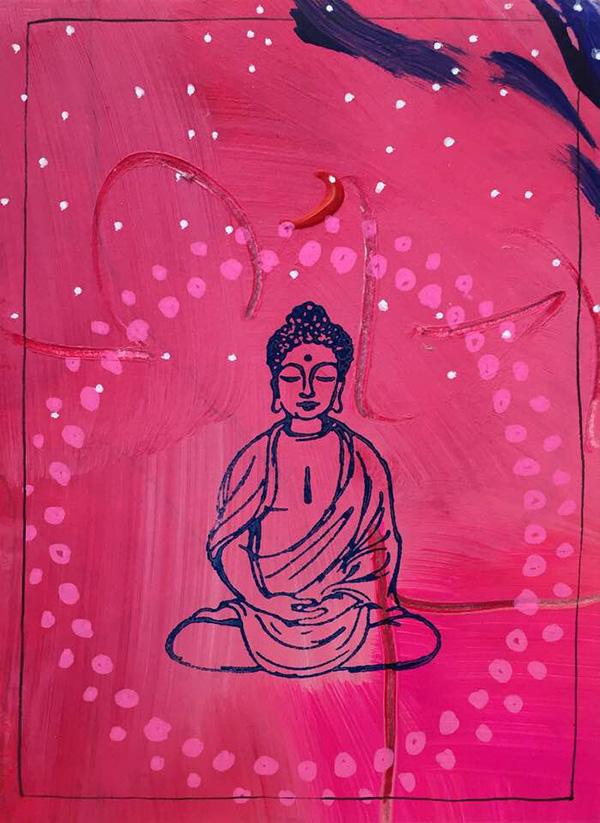 Buddha by Shivananda
