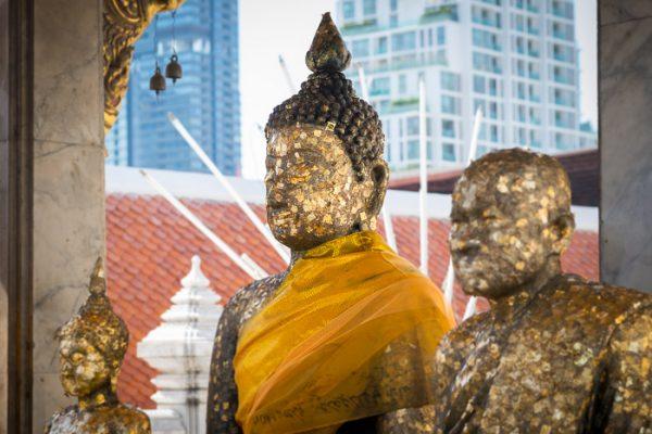 Buddha trio