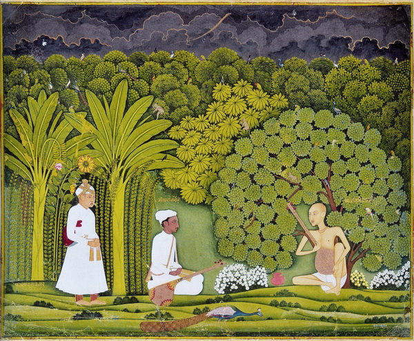 Akbar Tansen and Haridas