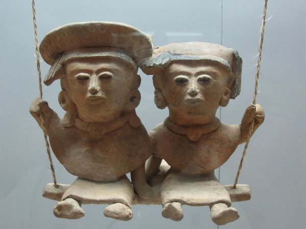 Mexican clay figurines