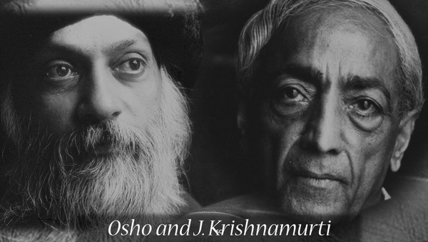 Osho and Krishnamurti