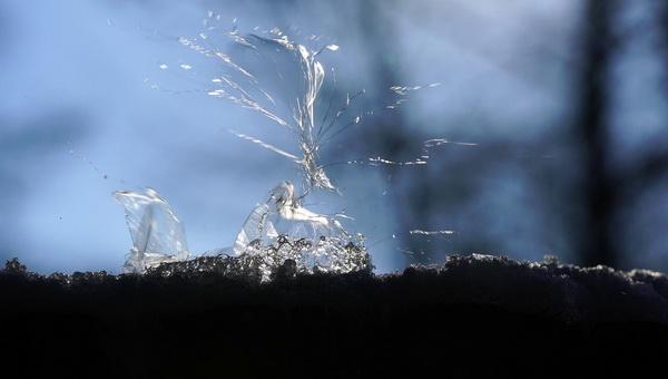 Soap Bubble bursts