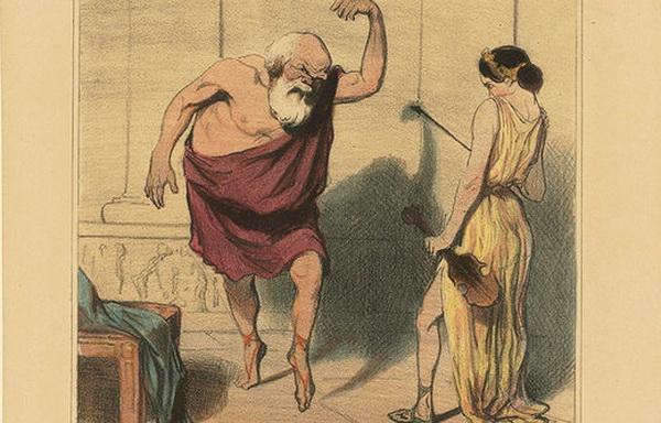 Socrates dancing