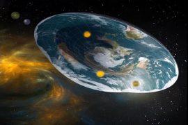Flat planet Feat