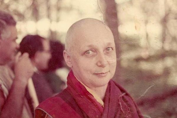 Freda Buddhist nun