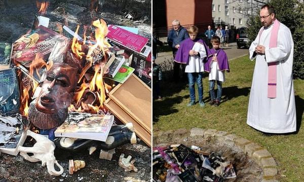 Book Burning Poland