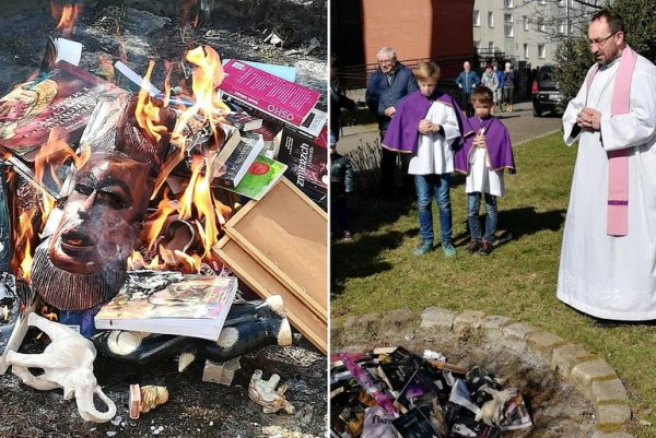 Book burning Feat