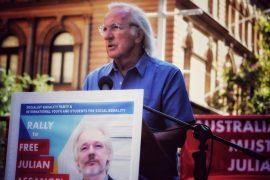 PIlger Assange Rally
