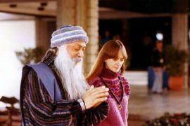 Osho and Nirvano in hotel