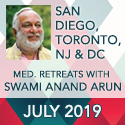 Arun in San Diego, Toronto, NJ, DC - July 2019