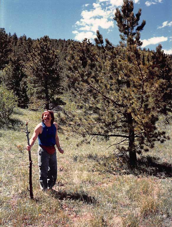 In the Colorado Mountains