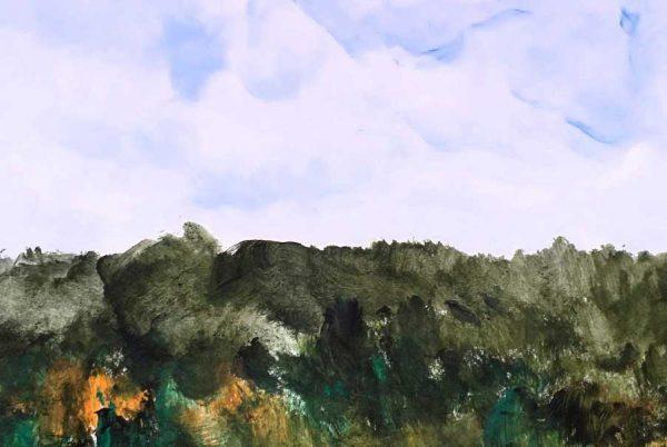 Tatini Moraitou, landscape in Corfu