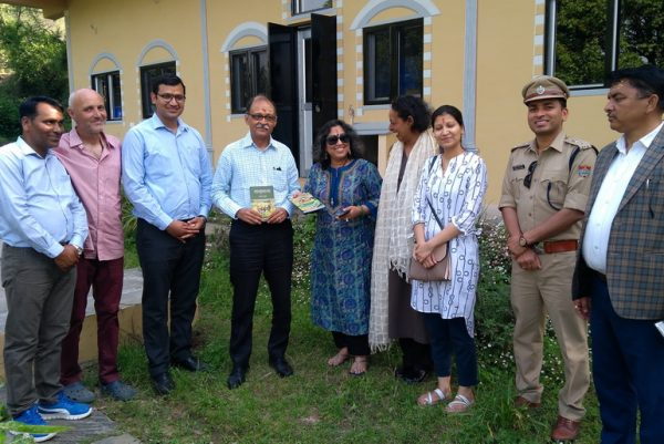 Official visit by Uttarkhand Chief Secretary
