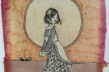 Early illustration by Padma