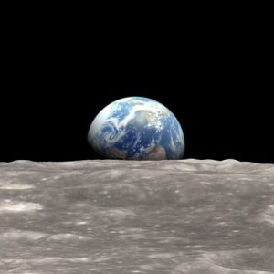 An awsome accident: the moonshot's unexpected gift to us all