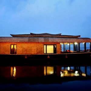 Rabindranath, the houseboat, the moon and silence