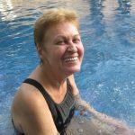 Lagan in the pool