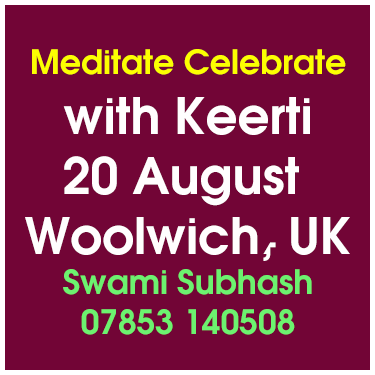 Meditate Celebrate with Keerti