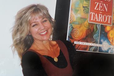 London art exhibition promoting the newly published Osho Zen Tarot 1994