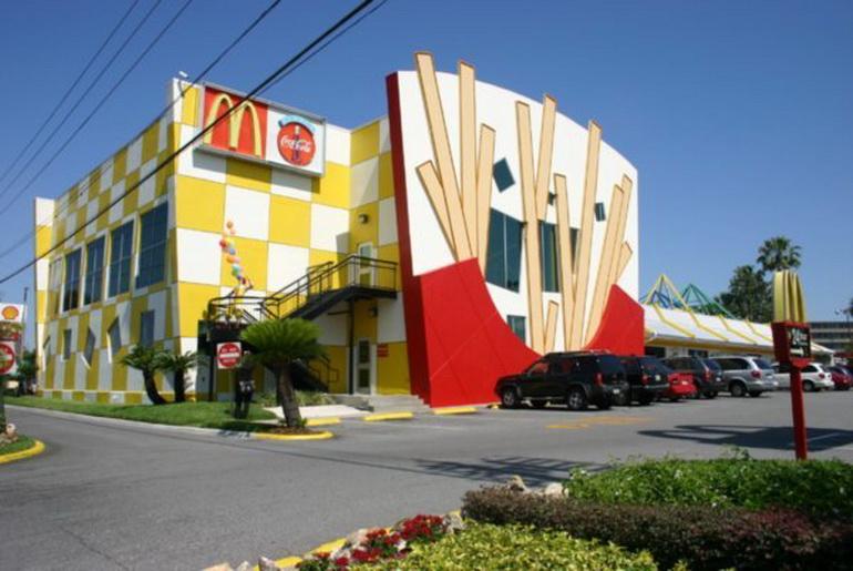 McDonald front