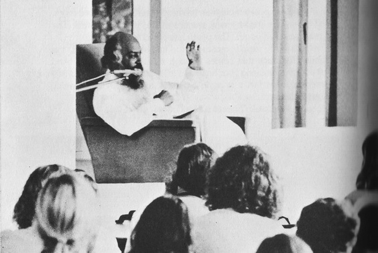Osho speaking in Chuang Tzu